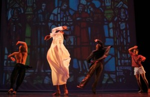 Alfred Hinkel's latest dance production lands at Baxter