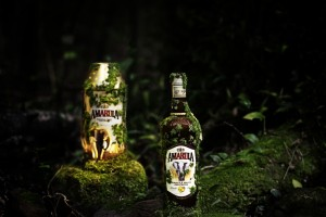 Lights out but shining with Amarula