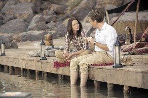 Emily Blunt and Ewan Mcgregor in 'Salmon Fishing In The Yemen'