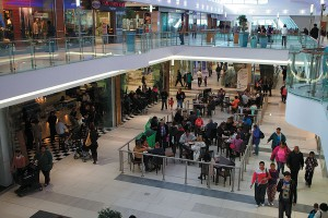 Get connected with free Wi-Fi at Blue Route Mall