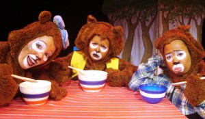 'Goldilocks And The Three Bears' comes alive at the Baxter