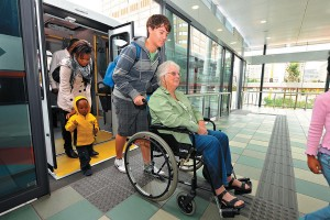 Disabled passengers can travel safely and with confidence on MyCiTi buses