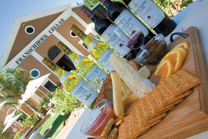 "Wine with heart: Getting ""Cheesy"" at Franschhoek Cellar"