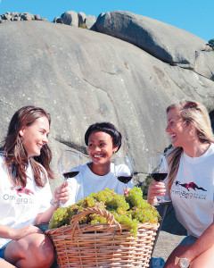 Taste the first of the vintage at OmmiBerg 'Round the Rock 2013-WIN tickets