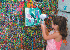Join Artjamming for a colour filled Easter holiday programme