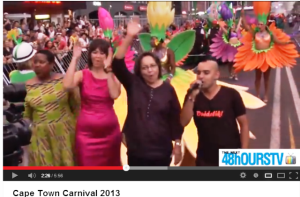48hOURSTV at Cape Town Carnival 2013 -VIDEO