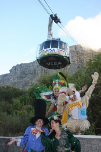 Easter entertainment on Table Mountain this Sunday