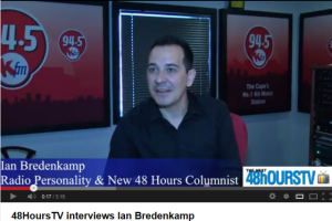 48HoursTV interviews Ian Bredenkamp