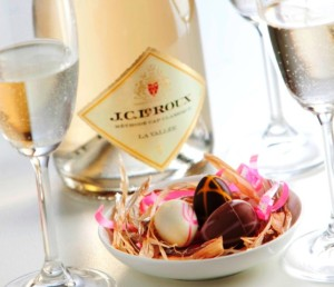 Bubbly and Easter eggs pair up at House of J.C. Le Roux