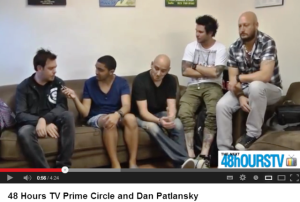 48hOURSTV catches up with with Prime Circle at Kirstenbosch -VIDEO