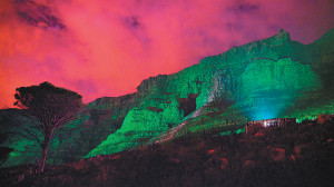 Table Mountain to be greened for St Patrick's Day