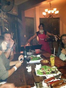 dining at Orinoco