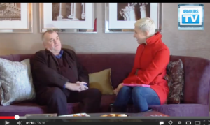 Liezel vd Westhuizen interviews Mark Banks – @48hoursTV