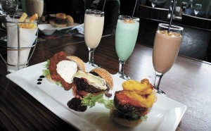 Gourmet burgers and milkshakes to combat winter blues