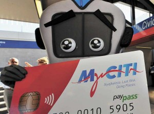 Start of distance-based fares for MyCiTi