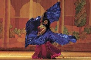 Belly dancing community comes together for a good cause