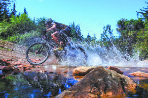 Living loud with Liezel: A weekend of extreme mountain biking action