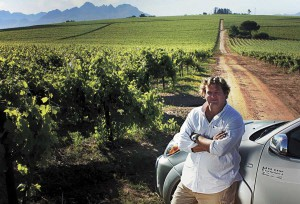 Raats Wines poured in honour of Madiba