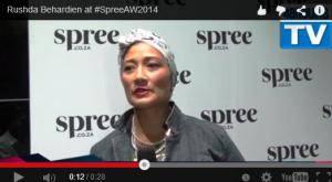 48hOURSTV chats to Rushda Behardien at #SpreeAW2014