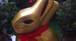 Find the Lindt Gold Bunny hiding in Cape Quarter and win