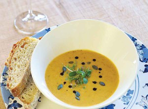 Soup Sip and Bread in the Durbanville Wine Valley