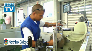 Northlink College CNC department on 48hOURSTV. (VIDEO)