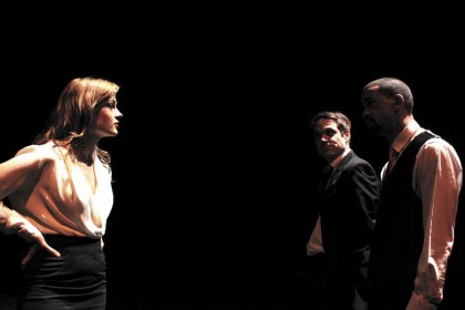 A sordid tale of political intrigue for the stage