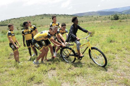 Living loud with Liezel: African cycling pride