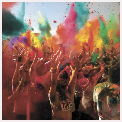 "Time again for the ""Happiest 5k on the Planet"" – Color Run"