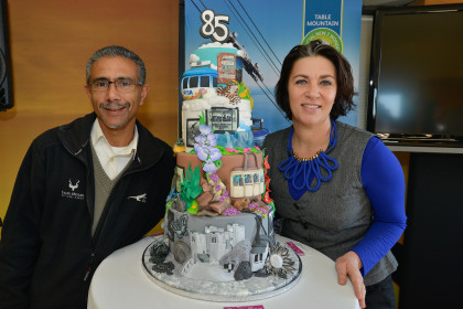 Table Mountain Aerial Cableway turns 85