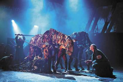 "A Cape Town ""homecoming"" for 'War Horse'"