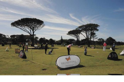Golfing stars tee off at the Cape Town Open
