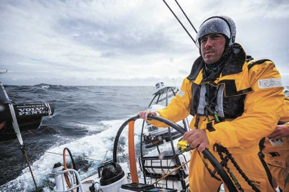 Nautical excitement takes over as Volvo Ocean Race stops over
