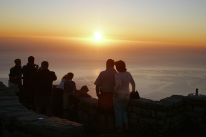 Table Mountain Cableway ½ price Sunset Special in full swing