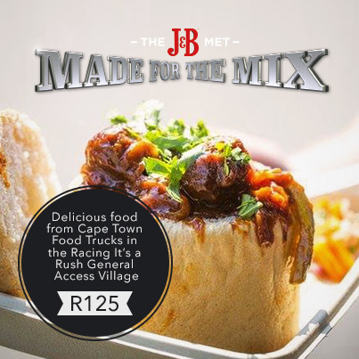 J&B Met menu set to dazzle crowds!