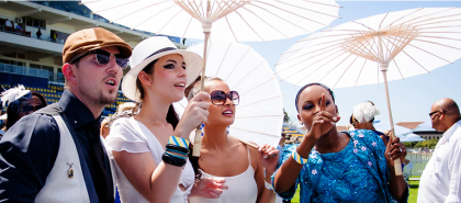Be part of the Glitz and Glam of the L'Ormarins Queen's Plate at Kenilworth Racecourse