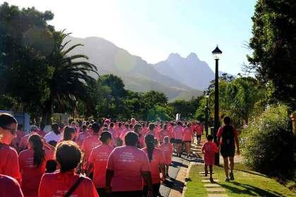 Women's Walk to paint Stellenbosch pink