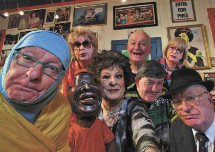 A satirist and his cluster of creations – Pieter Dirk Uys