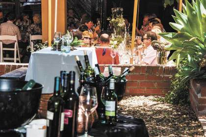Bottelary Hills 'Pop Up' Lunch to coaxe the senses