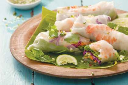 Of Vietnamese row boats and spring rolls – Jenny Morris