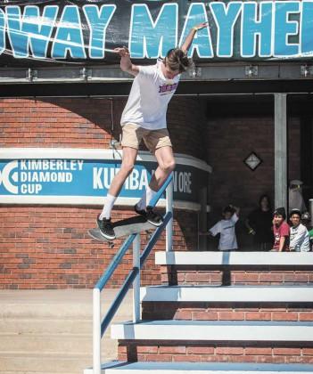New stop for Skateboarding for Hope tour