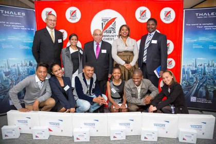 Community Chest honours inaugural recipients of bursary awards