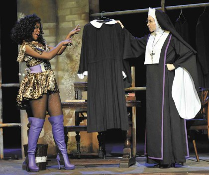 A scene from 'Sister Act'