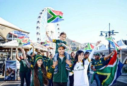 V&A Waterfront and Absa Boktown 'give it horns'