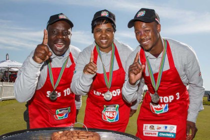 George Baloyi the winner of 2015 Championship Boerewors competition