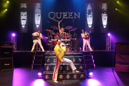 Classic rock gods Queen paid tribute to in international showcase