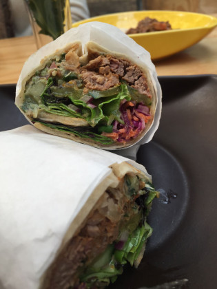 Slow-cooked-lamb-wrapped-inside-a-flat-bread