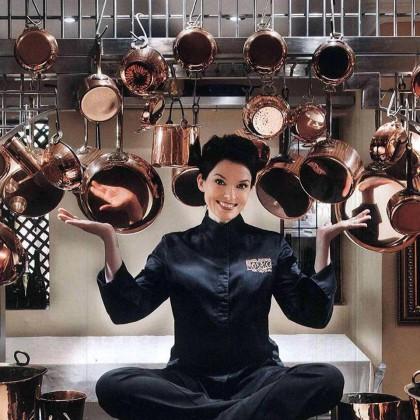 Chef Chantel Dartnall of Restaurant Mosaic - at The Orient