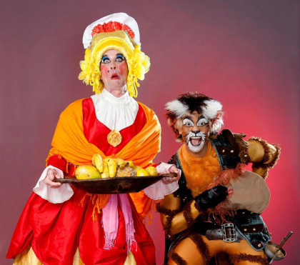 Swashbuckling 'Puss In Boots' panto for the festive season