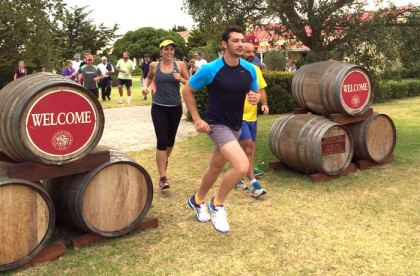 Trail run and breakfast at Strandveld Vineyards